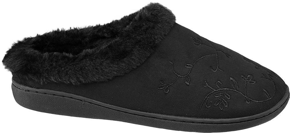 Casa mia Domácí obuv  černá