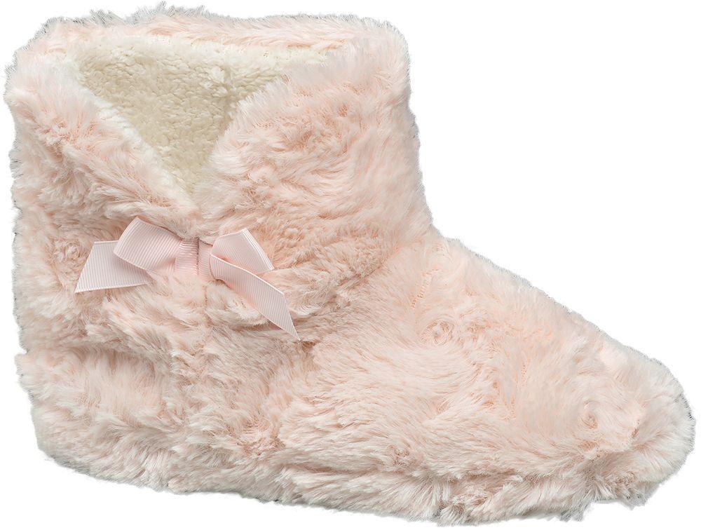 Casa mia Domácí obuv  růžová