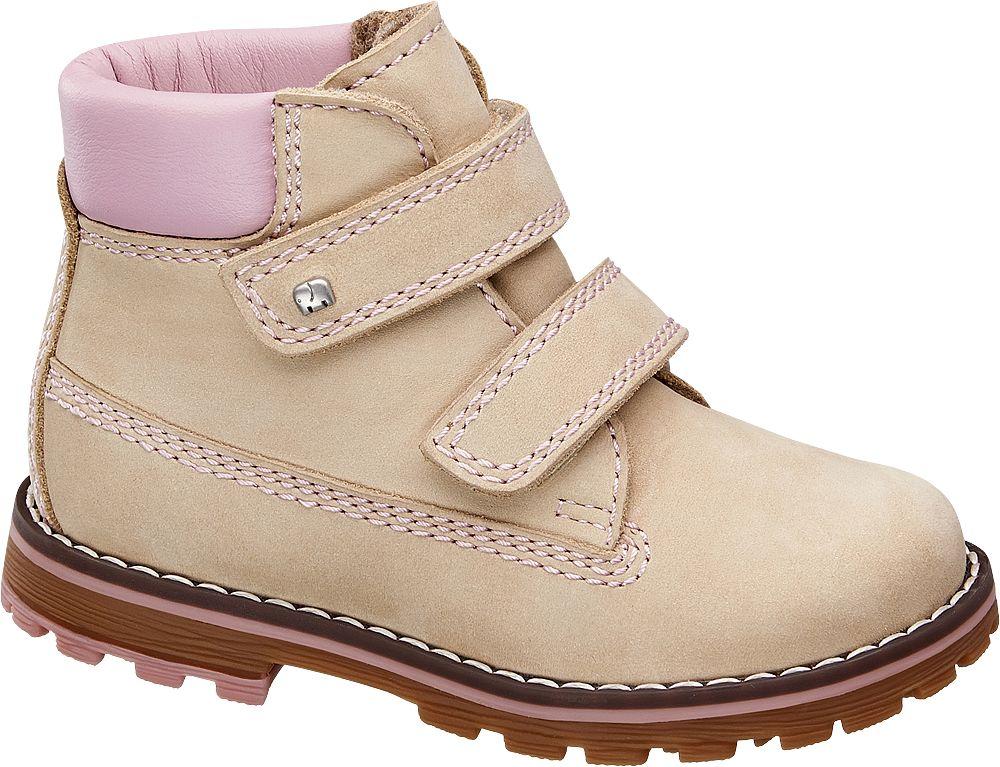 Deichmann - Elefanten Dětská kotníková obuv 25 béžová