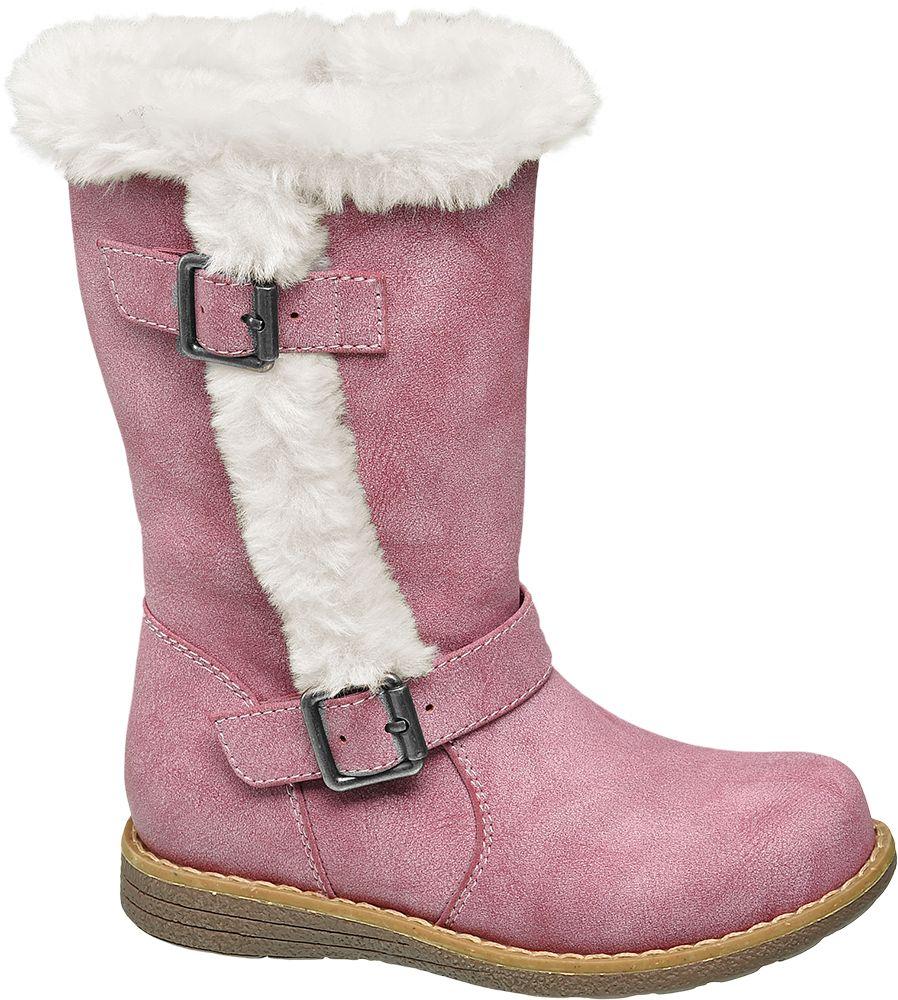 Deichmann - Cupcake Couture Dětské kozačky 28 růžová