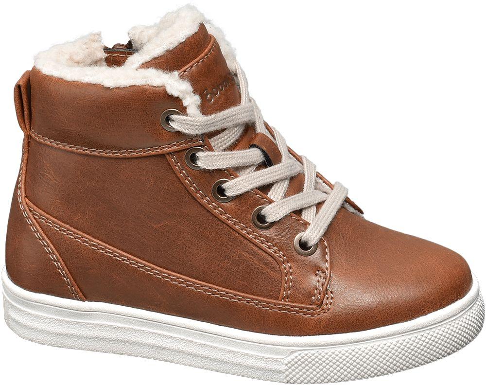 Deichmann - Venice Dětská šněrovací obuv 25 hnědá