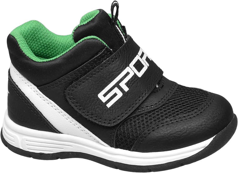 Deichmann - Bobbi-Shoes Dětská obuv na suchý zip 21 černá