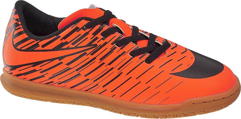 Deichmann - NIKE Dětská sálová obuv Bravata II IC 28 oranžová