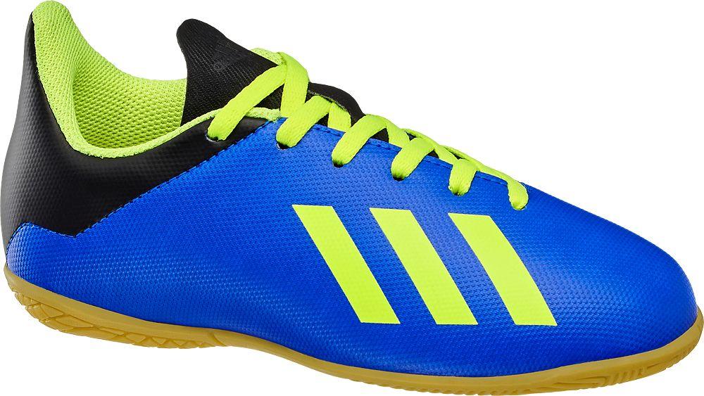 Deichmann - adidas Dětská sálová obuv X Tango 18.4 IN J 36 modrá