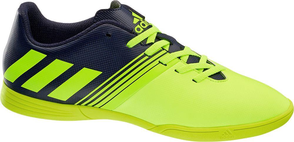 Deichmann - adidas Dětská sálová obuv 34 žlutá