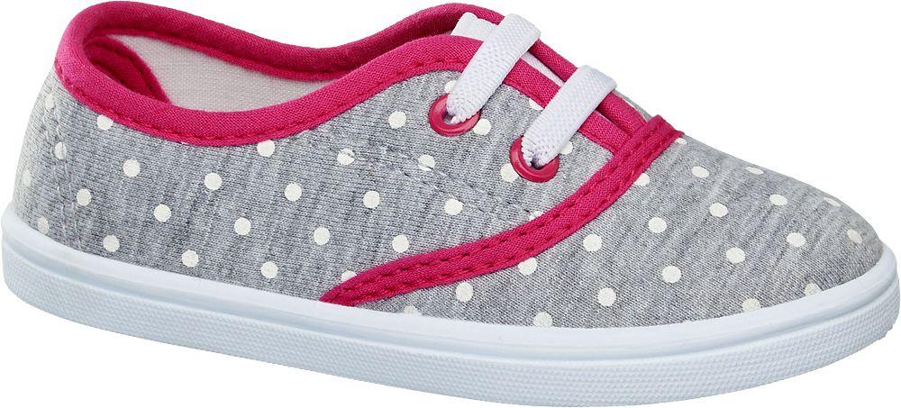 Deichmann - Cupcake Couture Dívčí domácí obuv 23 šedá