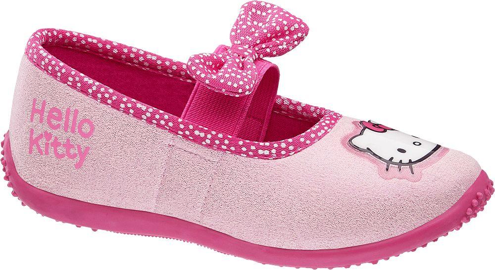 Deichmann - HELLO KITTY Dívčí domácí obuv 25 barva fuchsie