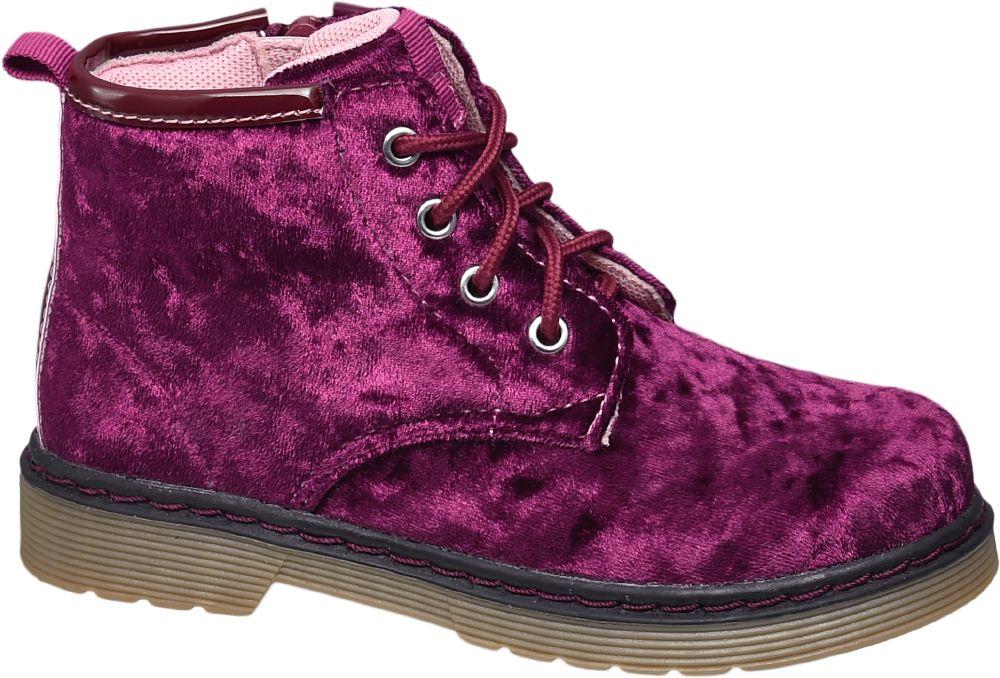 Deichmann - Cupcake Couture Dívčí zimní šněrovací obuv 27 červená