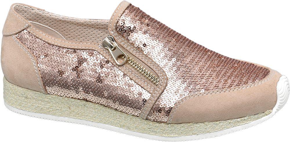 Pembe Bağcıksız Ayakkabı Graceland