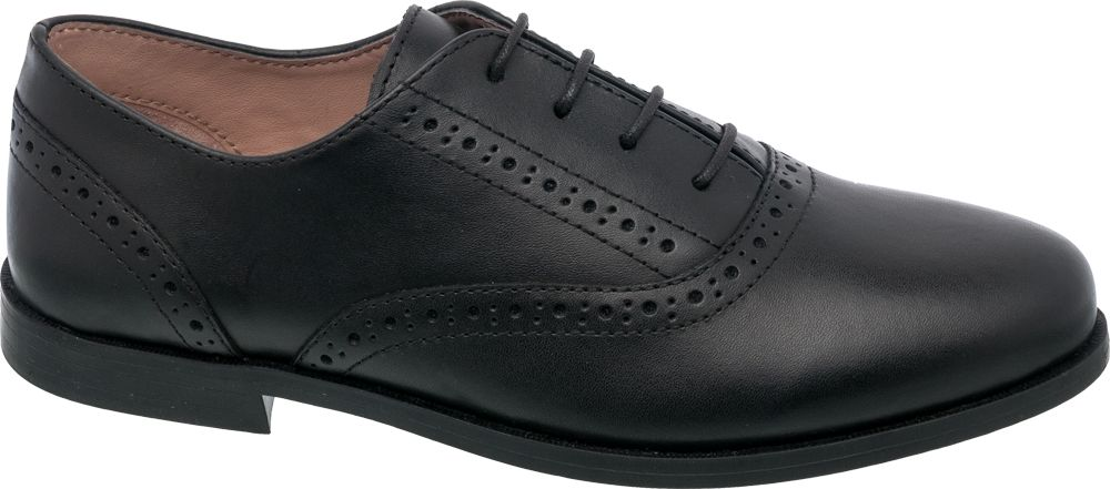 Leather Brogue Lace Up Shoe