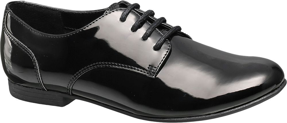 Patent Lace Up Shoe