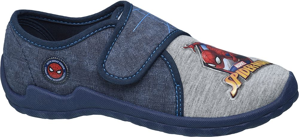 Kapcie dziecięce Spiderman granatowe