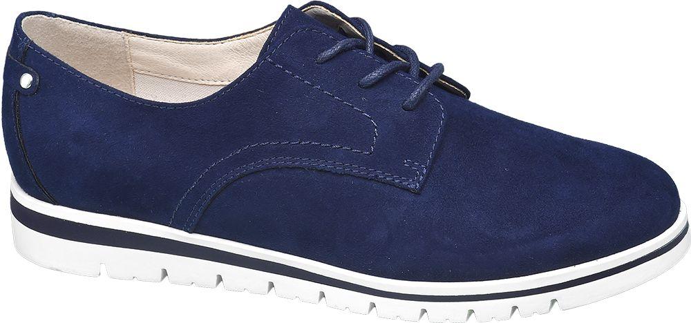 Półbuty damskie Graceland niebieskie
