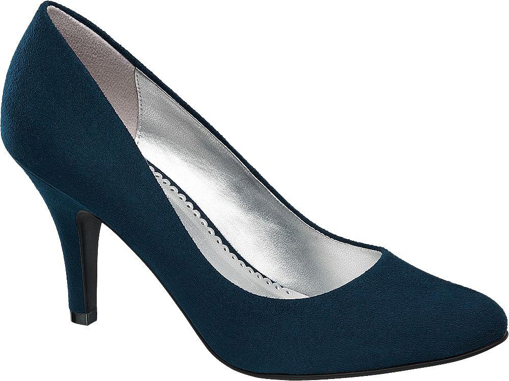 Szpilki damskie Graceland niebieskie