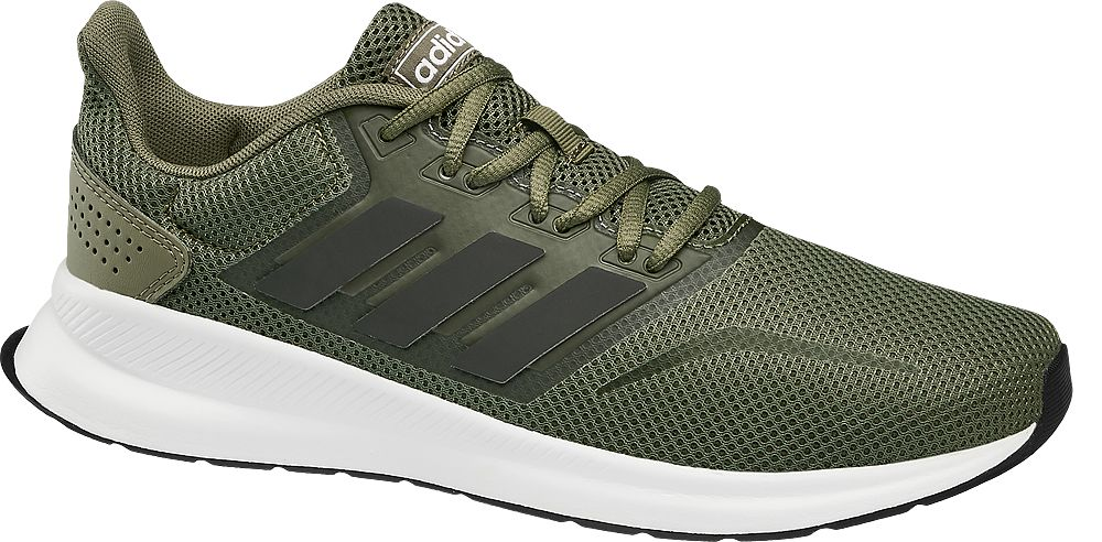 adidas - Khaki tenisky Adidas Falcon Adidas
