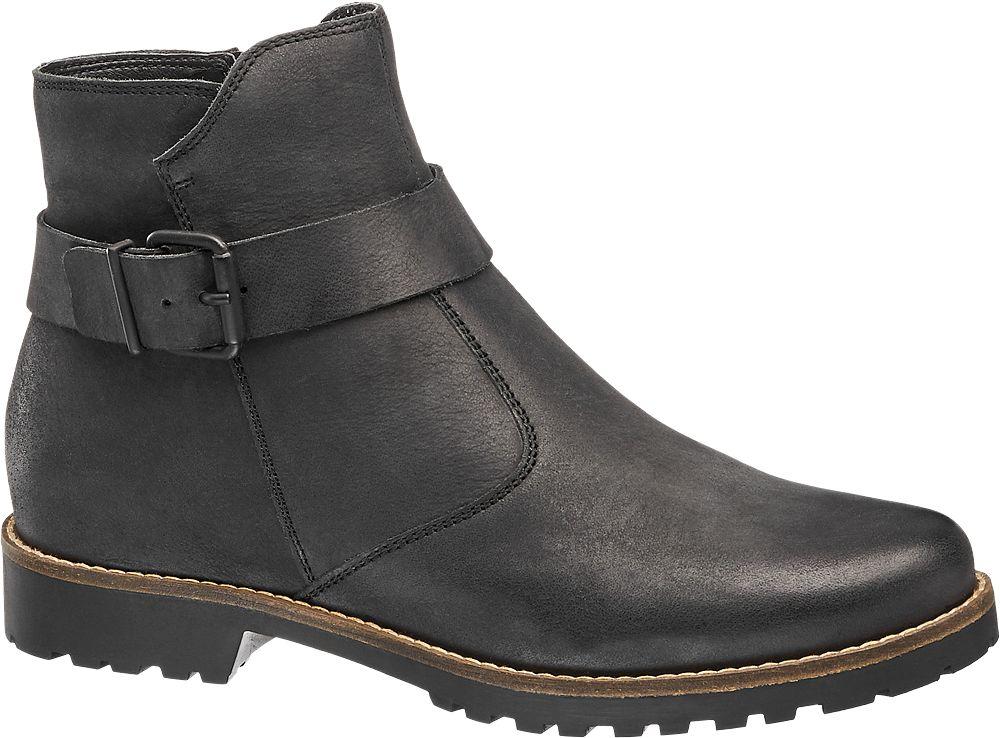 f7c42cd2cb6 Deichmann - 5th Avenue Kožená kotníková obuv Chelsea 36 černá