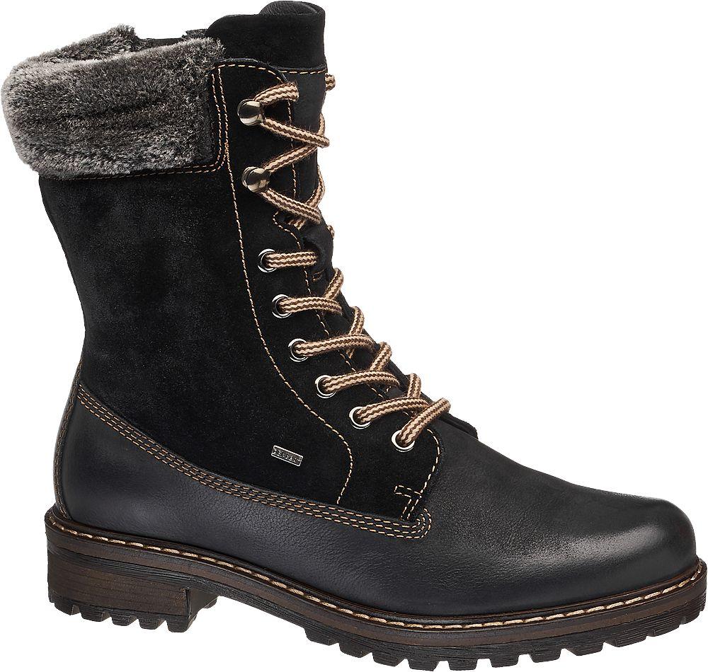 a8050953f1d0 Deichmann - Landrover Kožená šněrovací obuv 38 černá