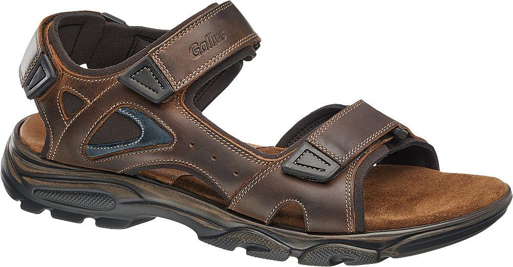 Gallus Kožené sandály  hnědá