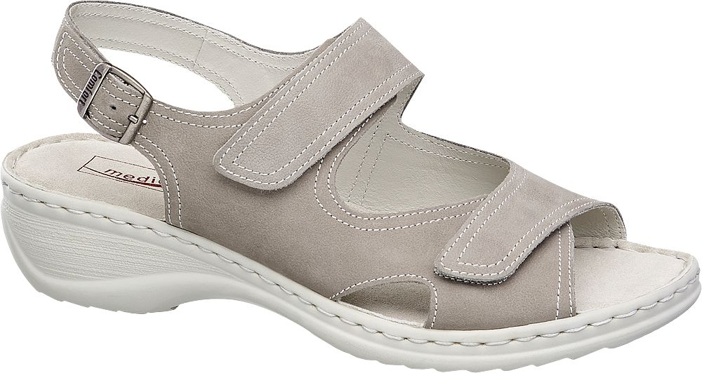 Sandały damskie Medicus szare
