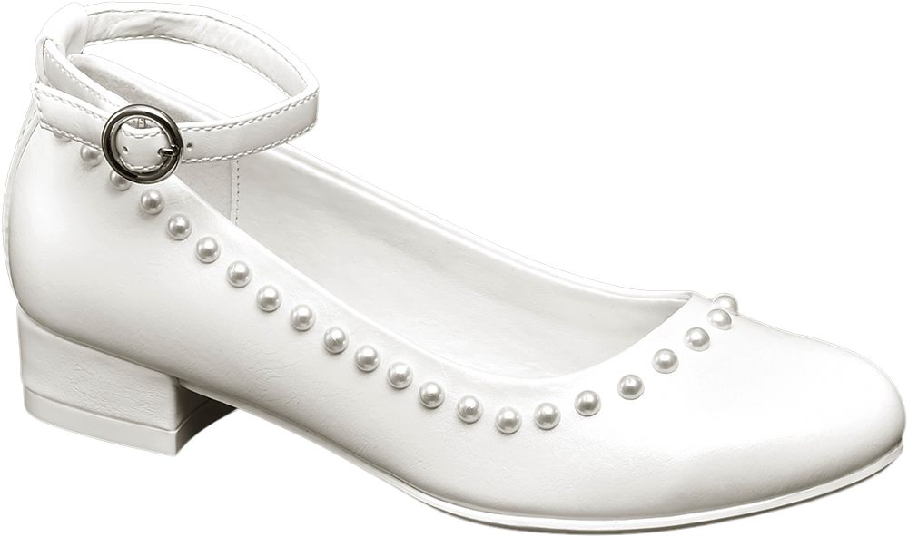 Półbuty dziecięce Graceland białe