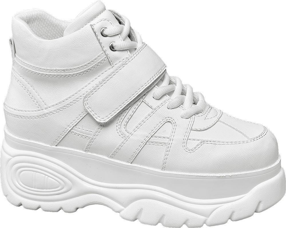 Graceland Kotníkové Chunky tenisky  bílá