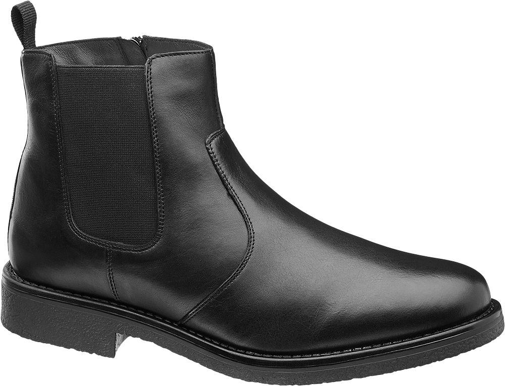 Deichmann - Claudio Conti Kotníková obuv Chelsea 42 černá
