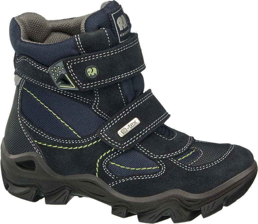 Deichmann - Elefanten Kotníková obuv na suchý zip 27 modrá