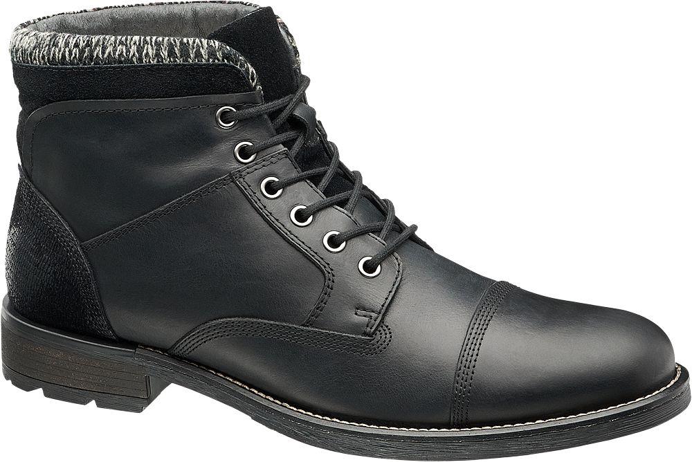 Deichmann - AM SHOE Kotníková obuv 42 černá
