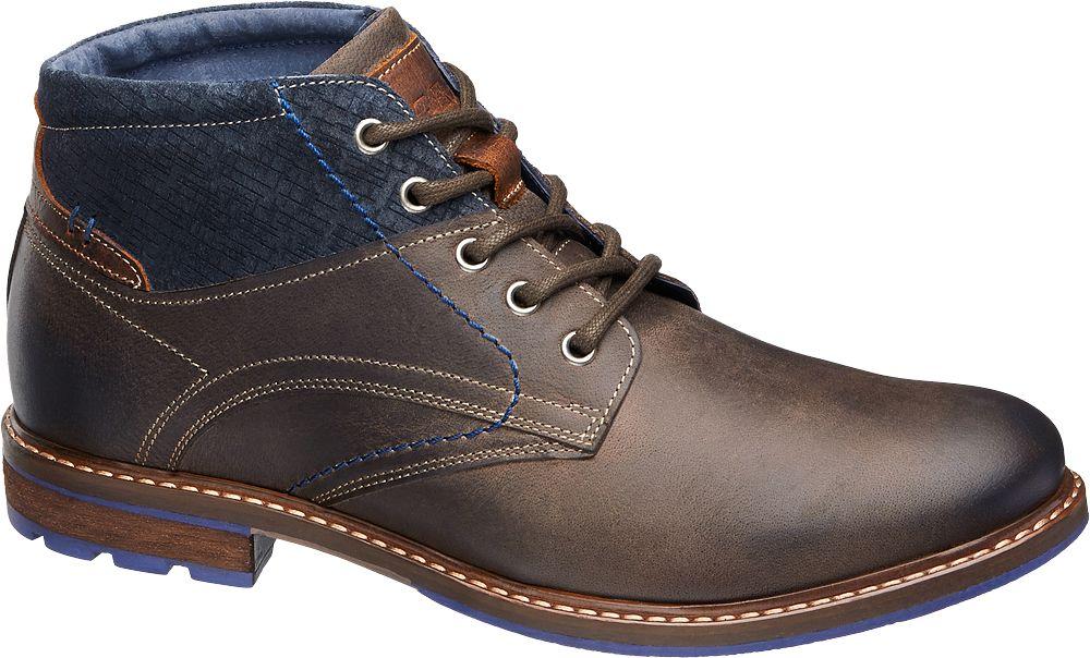 Deichmann - AM SHOE Kotníková obuv 44 hnědá