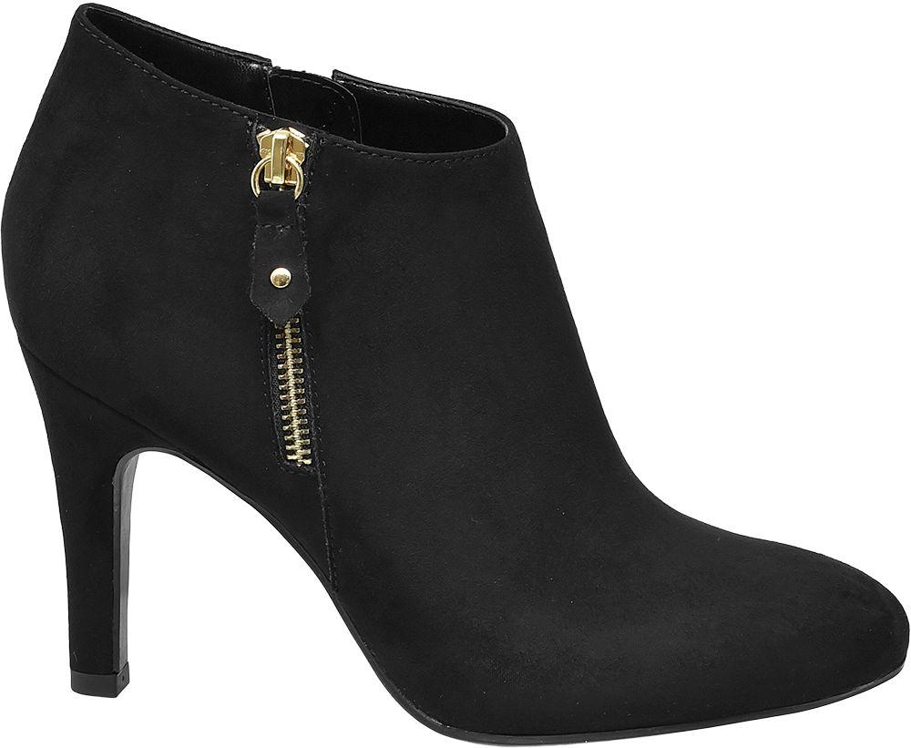 Graceland Kotníková obuv  černá