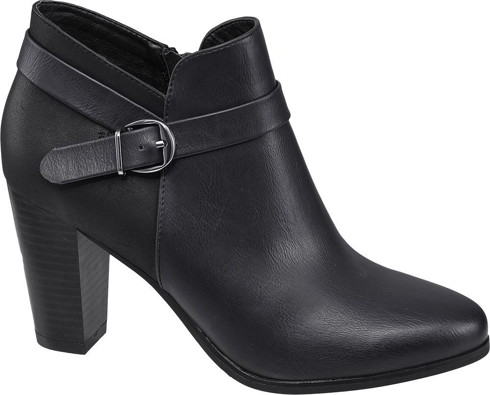 a6ccaff38598 Graceland Kotníková obuv černá