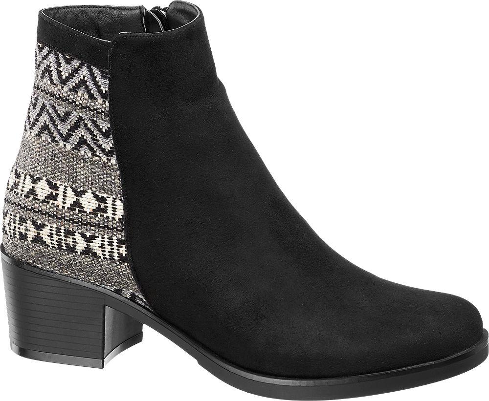 1c03f73d3cd9 Deichmann - Graceland Kotníková obuv 37 černá