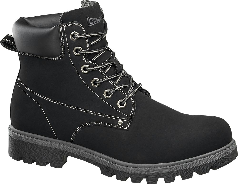29e746d39a Deichmann - Landrover Kotníková obuv 40 černá