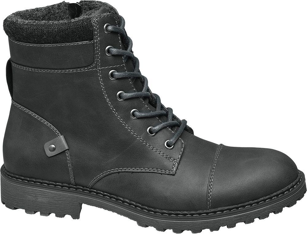 Deichmann - Landrover Kotníková obuv 40 černá