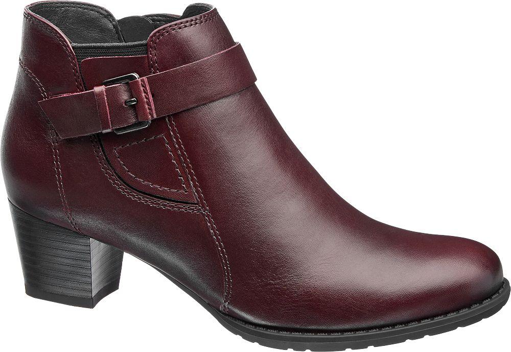 Deichmann - Medicus Kotníková obuv 5 červená