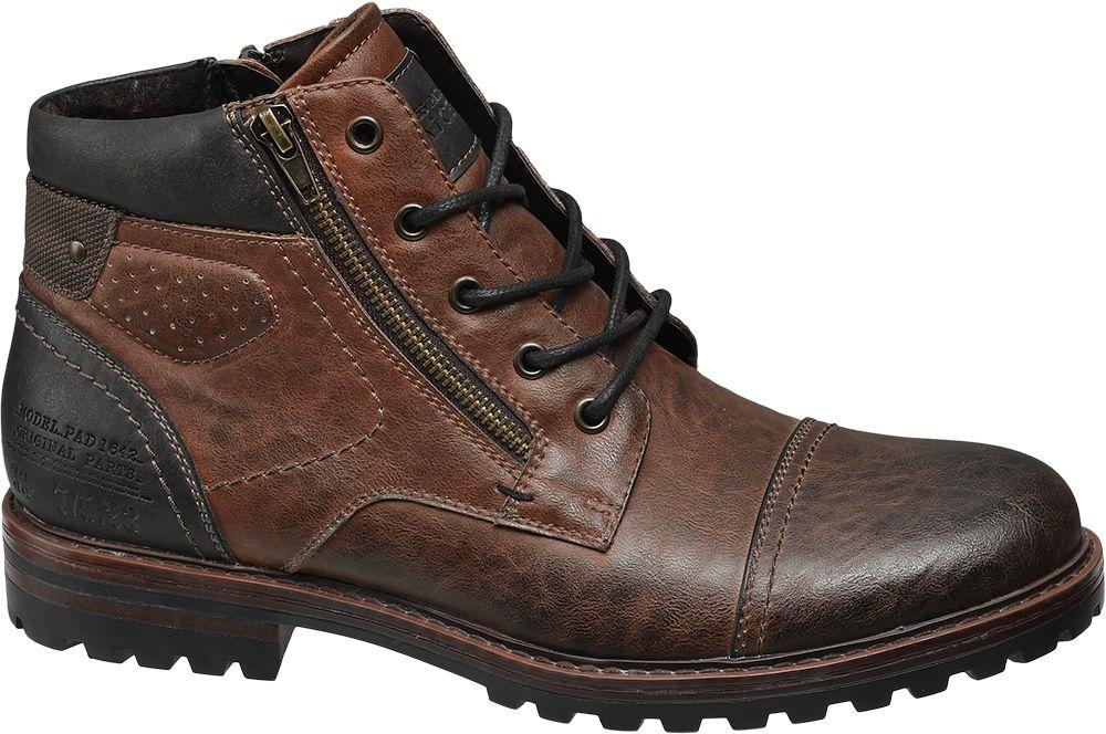 7ca8d521bca Deichmann - Venice Kotníková obuv 42 hnědá