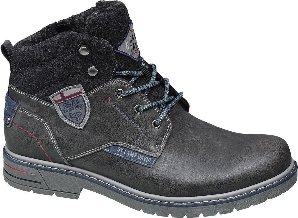 d85f45fcdf67 Deichmann - Venture by Camp David Kotníková obuv 41 šedá