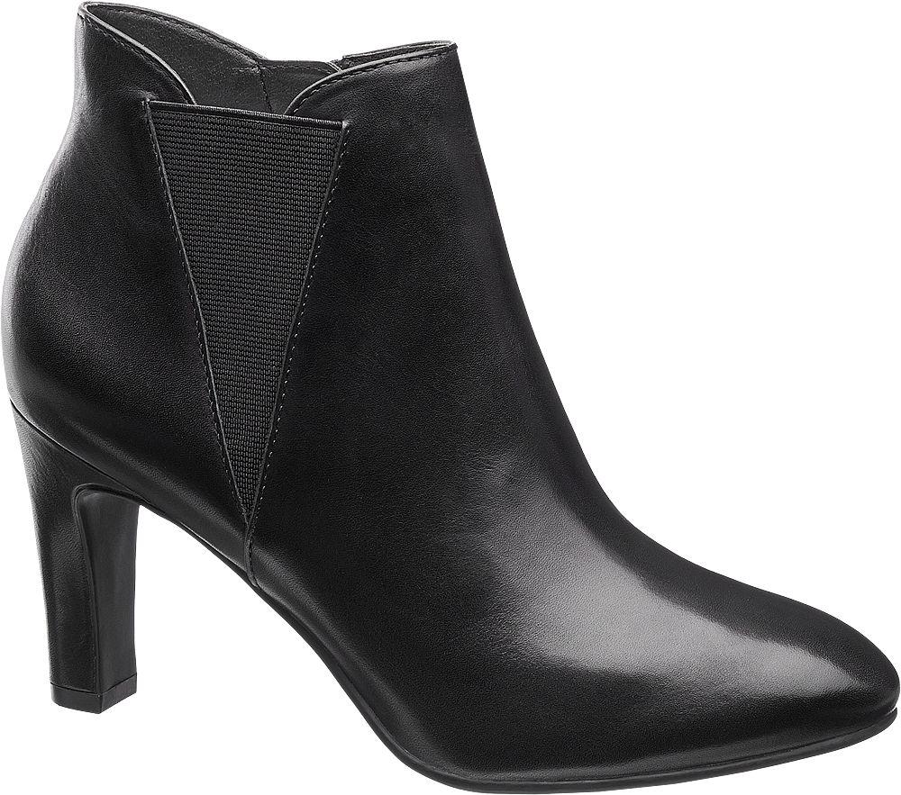 Deichmann - 5th Avenue Kotníková obuv 38 černá