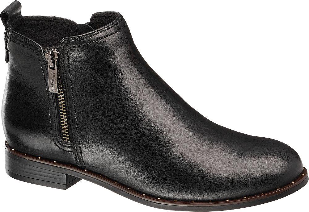 74bc96aa75a Deichmann - 5th Avenue Kotníková obuv 42 černá