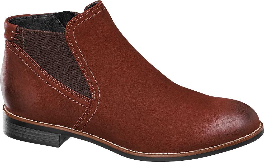 5th Avenue Kotníková obuv  červená