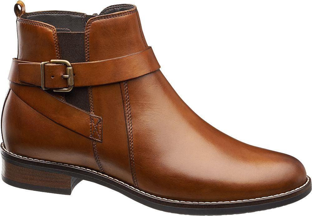 Deichmann - 5th Avenue Kotníková obuv 39 hnědá