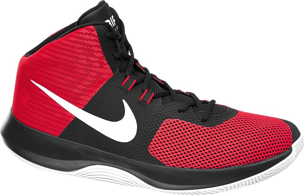 Deichmann - NIKE Kotníkové tenisky Air Precision Basketball 46 červená