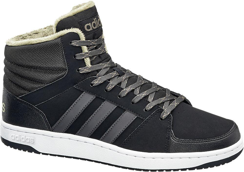 adidas neo label - Kotníkové tenisky Va Hoops Mid Wtr