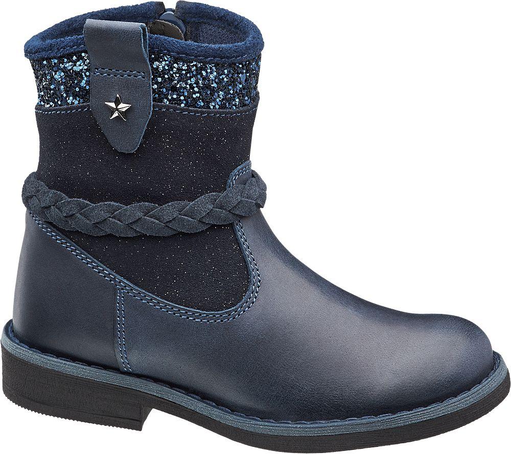 Deichmann - Cupcake Couture Kozačky 25 tmavě modrá