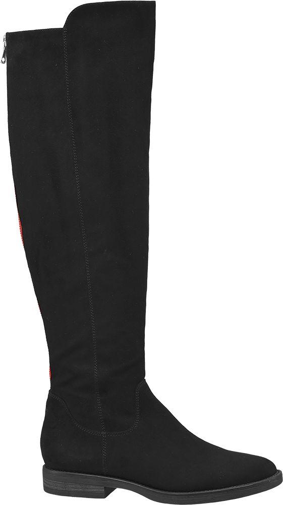 Graceland Kozačky  černá