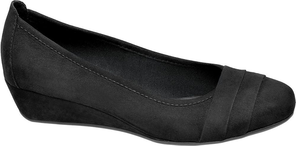 Deichmann - Graceland Lodičky na klínku 35 černá
