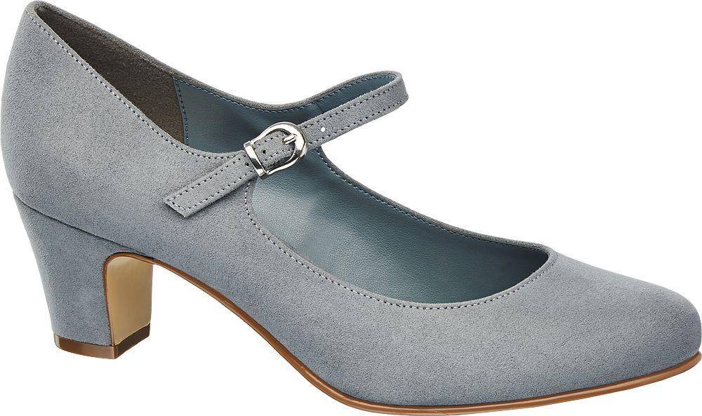 Graceland Lodičky s páskem  šedá