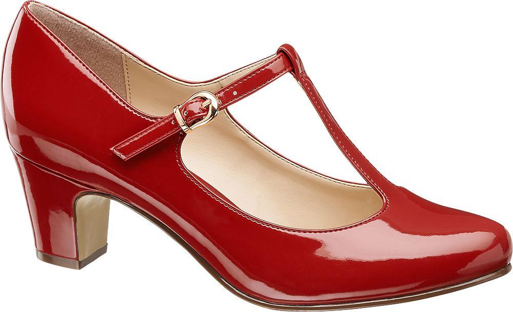 Graceland Lodičky  červená