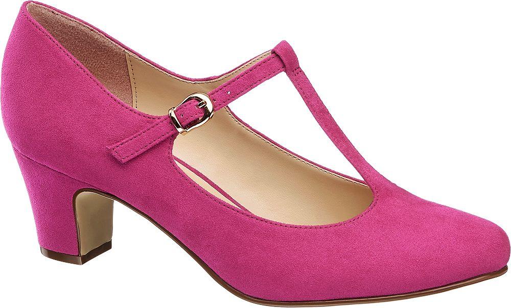 904465f43e Deichmann - Graceland Lodičky 44 růžová