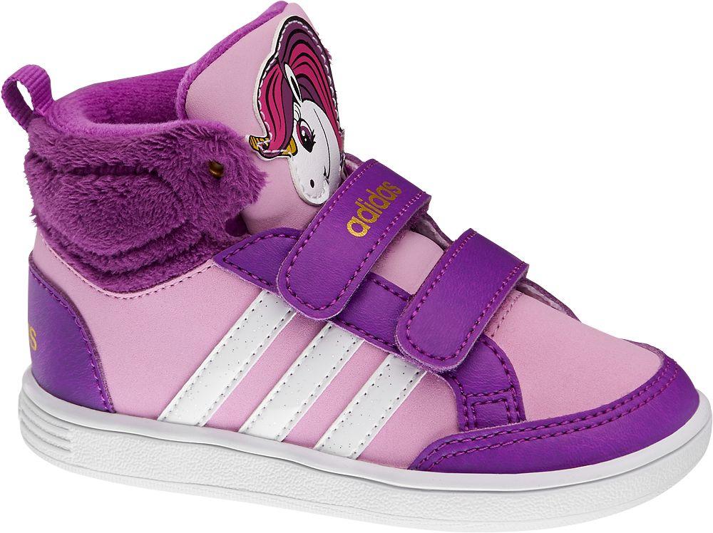 buty dziecięce Adidas Hoops Animal Mid Inf - 1710365
